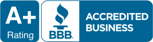 BBB Acredited Business – A+ Rating