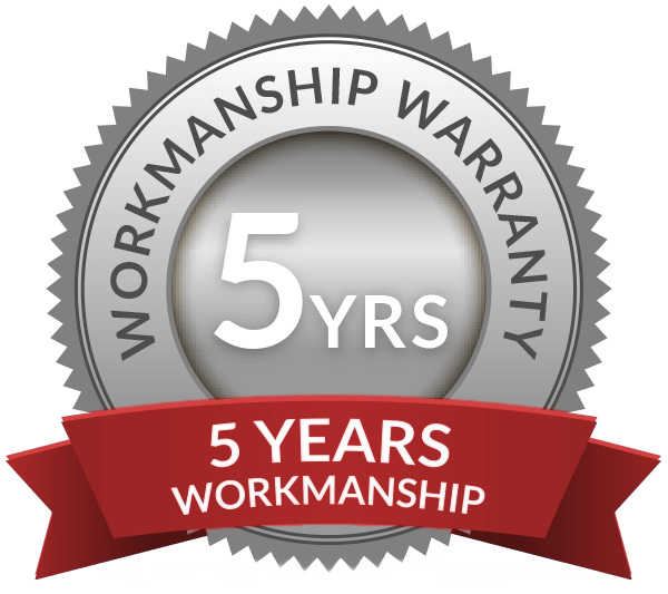 %-Year Workmanship Warranty